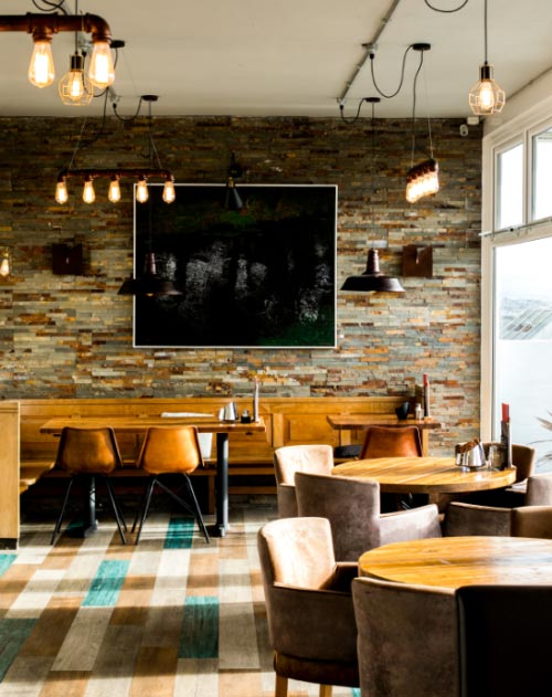 Stylish Bistro in Newquay, Cornwall