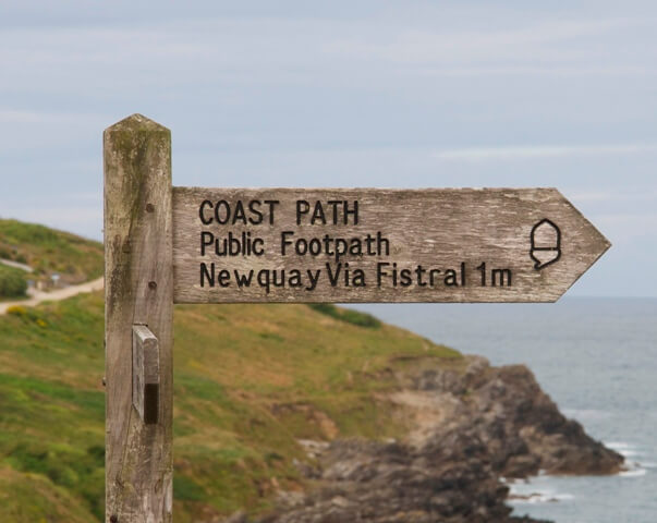 South West Coast Path Newquay